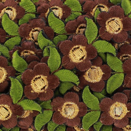 Ruban galon India Fleurs d'angkor x 50cm