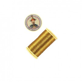 Au Chinois polyester metallized sewing thread  - old gold