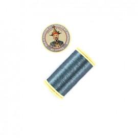 Fil polyester métallisé Au chinois n°40 - gris