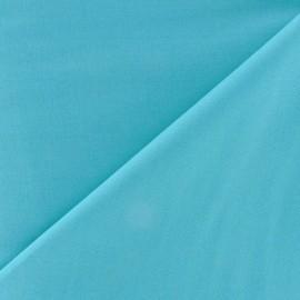 Tissu Popeline azur clair x10cm