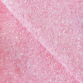 Glitter Fiesta Glass Fabric - candy x10cm