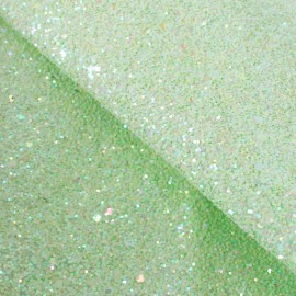 Glitter Fiesta Glass Fabric - almond x10cm