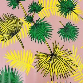 Tissu toile cirée - Palmleaf x 31cm
