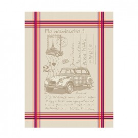 French Tea towel Bayonne - La Deudeuche