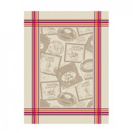 ♥ French Tea towel Bayonne - Le Savon ♥