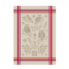 French Tea towel Bayonne - Hulotte