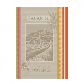 French Tea towel Multico - Paysage de Provence