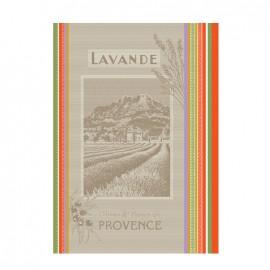 Torchon Jacquard Multico - Paysage de Provence