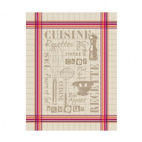 Torchon Jacquard Bayonne - La cuisine