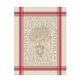 French Tea towel Bayonne - L'Olivier