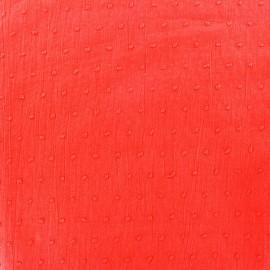 Plumetis Fabric - grenadine x 10cm
