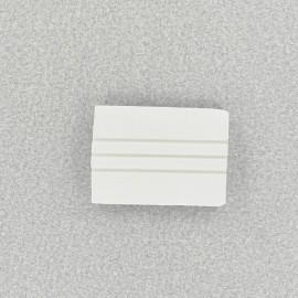 Craie de tailleur rectangulaire blanche