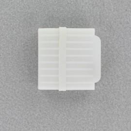 craie tailleur blanc avec aiguiseur