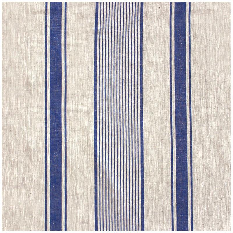 tissu toile lin lilly bleu x 10cm ma petite mercerie. Black Bedroom Furniture Sets. Home Design Ideas