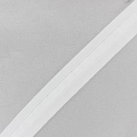ruban fronceur 35 mm blanc