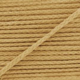 Cotton cord, color-fast - beige