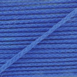 Cordon coton grand teint marine