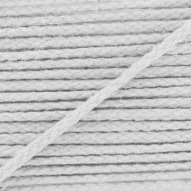Cordon coton grand teint blanc