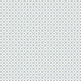 Tissu Jersey Tormentille - bleu glacé x 10 cm