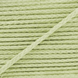 Cotton cord, color-fast - olive green