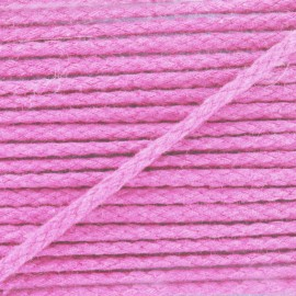 Cotton cord, color-fast - pink