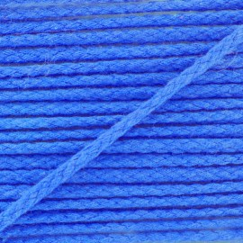 Cotton cord, color-fast - navy