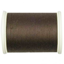 Sewing thread bobbin 1000 m - brown (color n°9052)