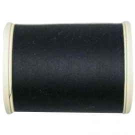 Sewing thread bobbin 1000 m - black (color n°1000)