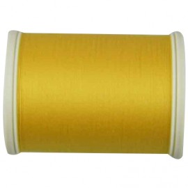 Sewing thread bobbin 1000 m - yellow (color n°6349)