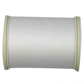 Sewing thread bobbin 1000 m - white (color n°2000)