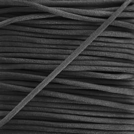queue de rat 2,5 mm noir