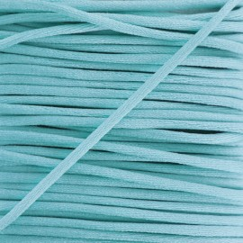 Rattail cord 2,5 mm - sky blue