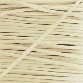 Rattail cord 2,5 mm - cream