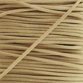 Rattail cord 2,5 mm - beige