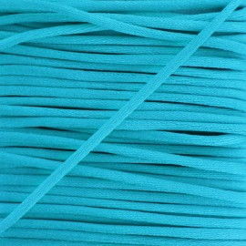 Rattail cord 2,5 mm - turquoise