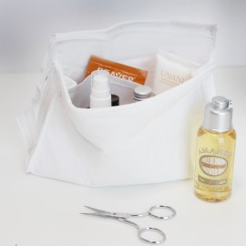 Toilet-bag to customize - white