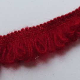 Elastic lace Froufrou - red