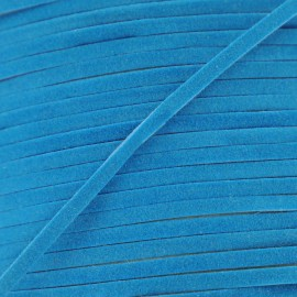 Suede Aspect shoelace - Turquoise