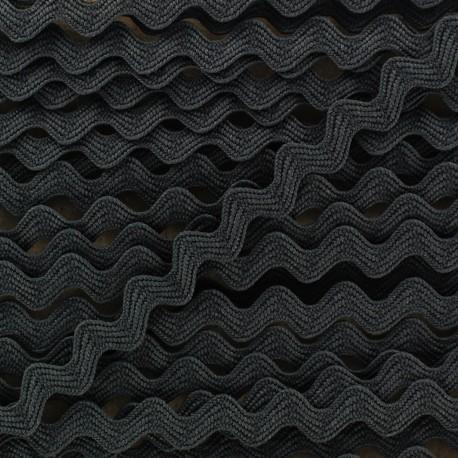 Color-fast serpentine 5 mm - black