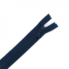 Moulded plastic open end zip eclair® - navy blue