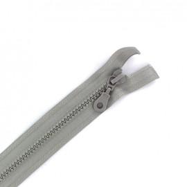 Fermeture Eclair® séparable synthétique moulée - gris clair