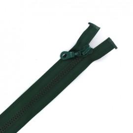 Fermeture Eclair® séparable synthétique moulée - vert lichen