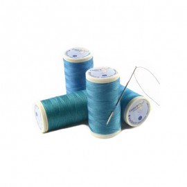 "Coats Duets Thread 100 m –the ""turquoise blue"" threads"