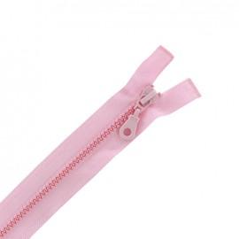 Fermeture Eclair® séparable synthétique moulée - rose