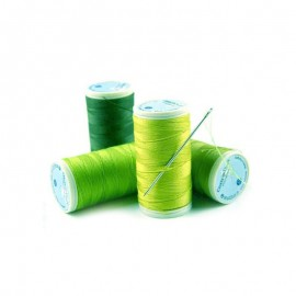"Coats Duets Thread 100 m –the ""meadow green"" threads"