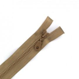Fermeture Eclair® séparable synthétique moulée - beige moyen