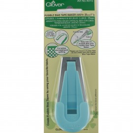 Bias Tape maker 25 mm (CLOVER) - blue