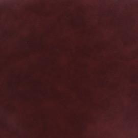 Simili cuir Cotton - bordeaux x 10cm