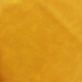 Simili cuir Cotton - jaune x 10cm