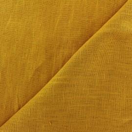 Tissu lin lavé Thevenon - or x 10cm